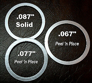 T5 5 Speed World Class Transmission Shims.Fits Ford Mustang GT Camaro Cosworth
