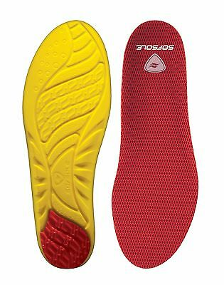 Sof Sole Men's Arch Performance Insoles, High Arch Supportive Cushioning Inserts