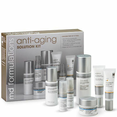 MD Formulations Anti-Aging Solution Kit ~ BRAND NEW - 7 Piece Kit