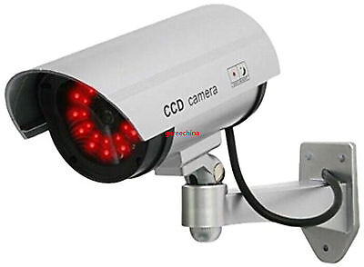 30 Illuminating LEDs Dummy IR Fake Security Camera for home or business