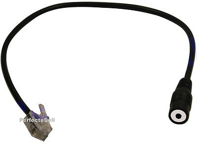 Headset Headphones Adapter RJ9/RJ10 To 2.5mm For Cisco IP Phone 7940 7931 7970