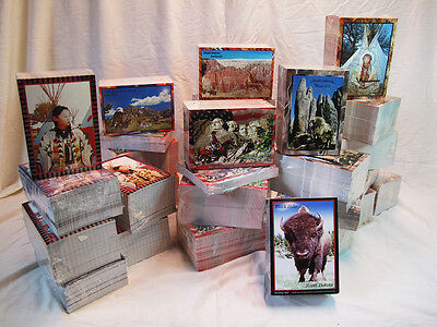 American West Post Cards Made in USA