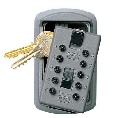 KIDDE - #001170 S6TITANIUM KeySafe Slimline 2-Key Push Button, Titanium