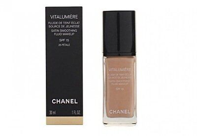 Chanel Vitalumiere Satin Smoothing Fluid Makeup 30 ml SPF 15