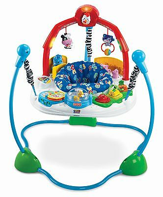 Fisher-Price Baby / Toddler Bouncer Jumper - Laugh and Learn Jumperoo -- New
