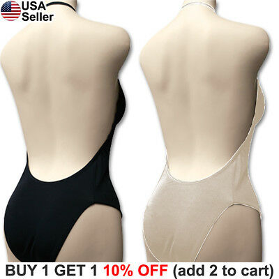 e0f2e2bd44 Backless Full Body Shaper Bikini Convertible Seamless Low Back Max Cleavage  9008