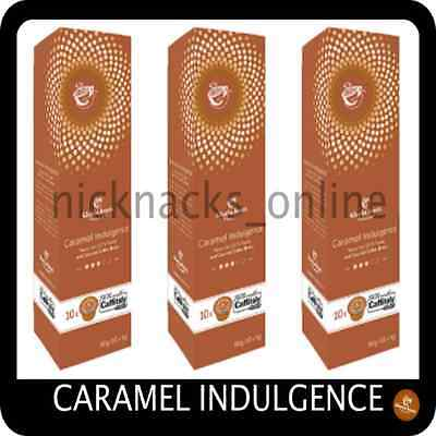 "30 x Gloria Jeans Coffee Capsules Pod "" Caramel Indulgence"" Caffitaly System"