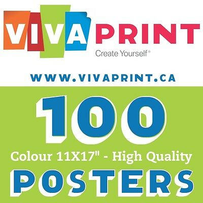 "100 Gorgeous Colour Posters 11X17""  Only $67"