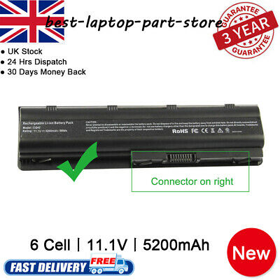 New HP Pavilion G72 G4 G6 G7 Series Laptop Spare Battery MU06 MU09 593553-001 UK