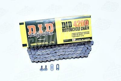 DID 420 x 130 Links Standard Series  Non Oring Natural Drive Chain