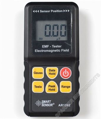 1pc AR1392 EMF Tester Gauss Electromagnetic Field Meter