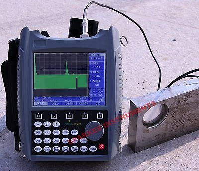SUB130 Ultrasonic Flaw Detector Defectoscope 0~25000mm DAC+AVG with Color B-Scan