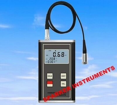 New VM-6370 Digital Vibration Meter Imbalance and Deflecting Tester Vibrometer