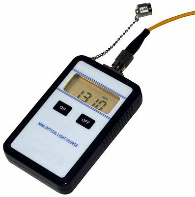 New Portable Optical Light Source Meter Tester JW3110 1310nm