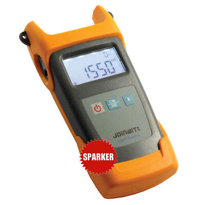 Portable Optical Light Source Meter Tester JW3111 1310/1550/(1490 or 1625)nm New