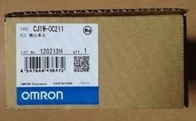 New In Box  CJ1W-OC211 Omron Relay Contact Output Unit   PLC