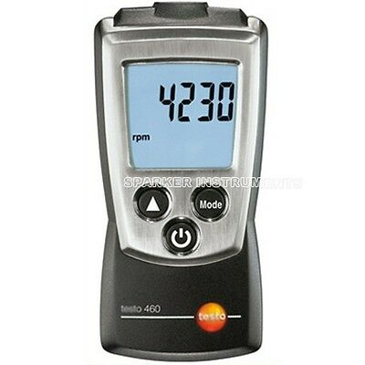 NEW Testo 460 Rotate Speed Measuring Instrument Tester Digital RPM Tachometer