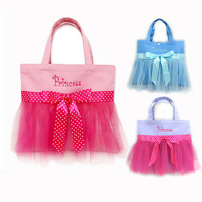 Fairy Princess Girl Ballet bag Tutu Bag Shoes Dancing Bag Bowknot Pink Tote Bag