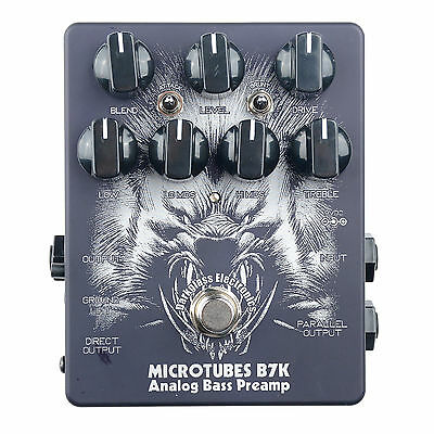 Darkglass Limited Edition B7K Microtubes Bass Preamp/DI Pedal - Handmade NEW!