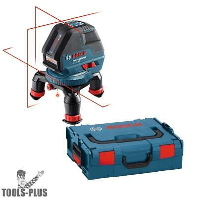 Bosch Tools Three Line Laser with Layout Beam w/ L-Boxx GLL3-50 New