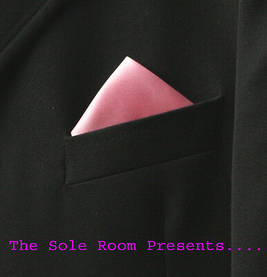 Pink 1 Point Pocket Handkerchief For Suit Jackets Crombies - Events - Weddings