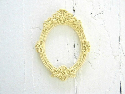 Furniture Architectural Appliques Frame-Wood & Resin-Stainable-Paintable-New