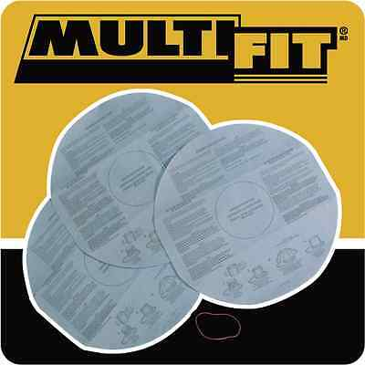 Multi-Fit VF2002 Disposable Filter Bags for Wet Dry Shop Vacuum 3-Pack