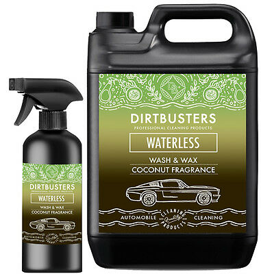 Premium Coconut Waterless Car Wash and Wax Cleaner 5.5 Litre