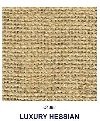 """Luxury Hessian Heavy Duty 100% Jute 58"""" Wide Superior Quality £18 For 5 Metres"""