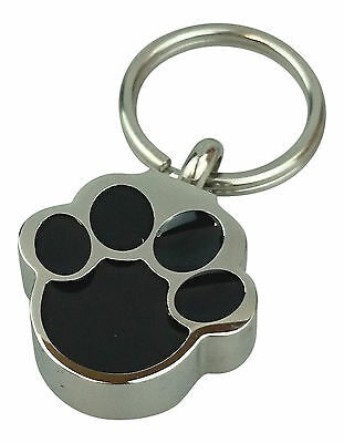 Pet Paw Urn Keyring - Memorial Ash Dog or Cat Cremation Jewellery - Engraving