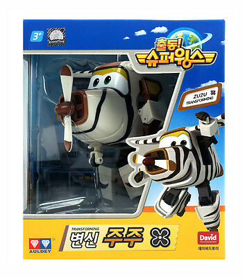 Super Wings [ ZUZU/BELLO ] Transforming Robot Planes series Animation Character