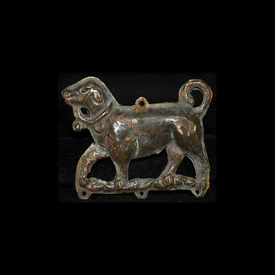 CHINESE BRONZE PENDENT LIAO PERIOD x3890