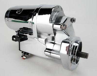 Terry Components 773094 Starter Motor 2.0kW - Polished/Chrome