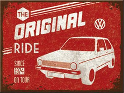 Nostalgic-Art - Magnet 8x6 cm - VW Golf - The Original Ride