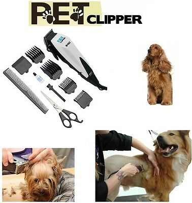 Pet Dog Cat Grooming Clipper Trimmer Professional Animal Hair Electric Shaver