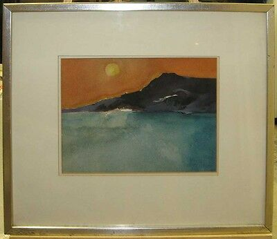 Donald Hamilton Fraser Abstract Coastal Landscape Important British Modernist