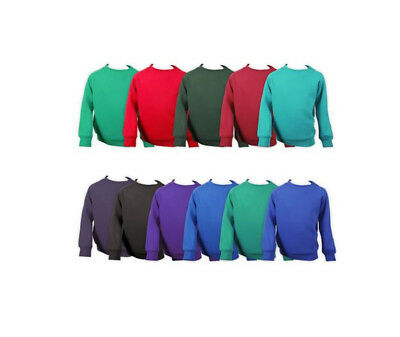 Childrens School Uniform Jumpers - Ages 3-13 - Many School Colours - Cotton