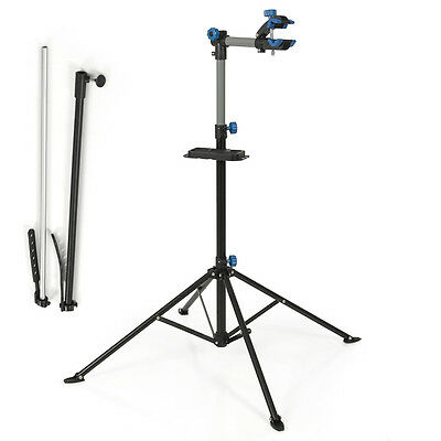 """Bike Rack Adjustable 43"""" To 75"""" Repair Stand with Telescopic Arm Bicycle Cycle"""