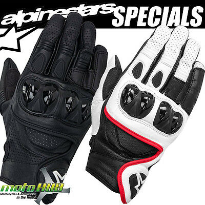 Alpinestars Celer Road Riding Short Motorcycle Leather Gloves Bike Racing Track