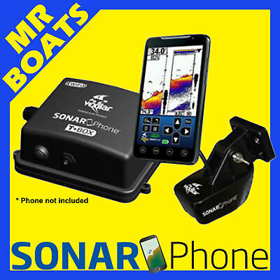SONAR PHONE Permanent Mount * WIRELESS FISHFINDER SP200 T-Box * 4 Phone Tablets