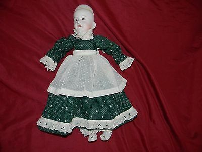 hand made all china doll and clothes 16 inch