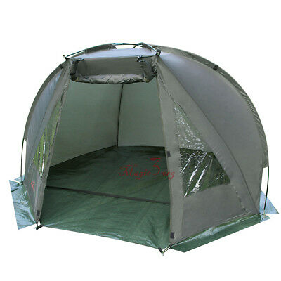 Carp Fishing Bivvy Day Shelter Tent Quick Erect Outdoor Coarse Tackle 1-2 man