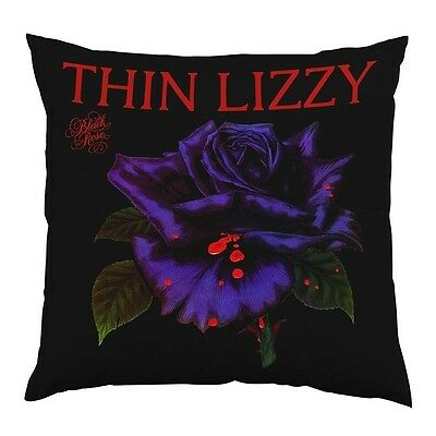 Thin Lizzy Black Rose Cushion NEW OFFICIAL