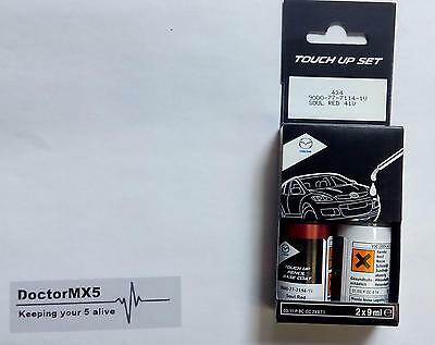 Paint Touch up, Genuine Mazda Soul Red 41V, MX-5, 2, 3, 5, CX5