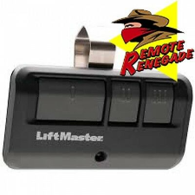 LiftMaster 893LM Security+2.0 3-Button Remote Control
