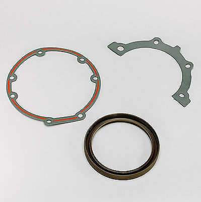 FelPro BS40520 Rear Main Seal - 1987-Up Small Block Chevy 1-Piece 305/350 Rubber