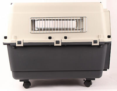 """36"""" Plastic Airline Approved Travel Carrier Pet Crate - Dog Cat Small Animal"""
