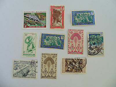 L287 - Collection Of Madagascar Stamps