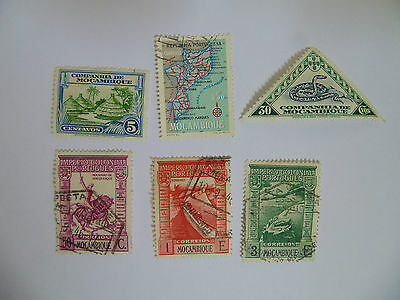 L320 - Collection Of Mozambique Stamps