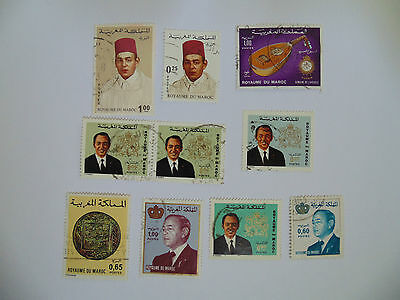 L330 - Collection Of Morocco Stamps